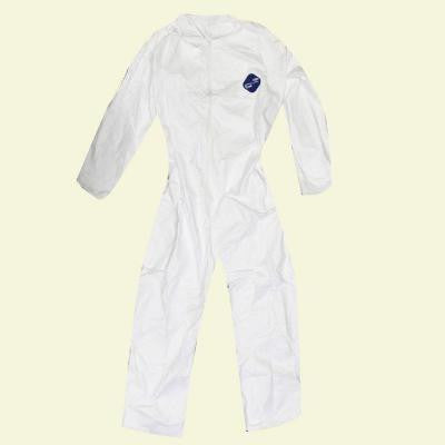 XL White No Elastic Coverall