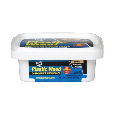 Plastic Wood 8 oz. Natural Latex Carpenter's Wood Filler (6-Pack)