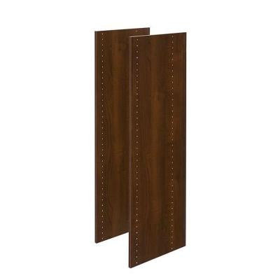 48 in. Espresso Vertical Panels (2-Pack)