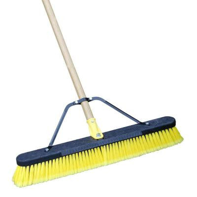 Job Site 24 Inch Indoor/Outdoor Push Broom (Case of 2)