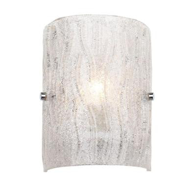 Brilliance 1-Light Chrome Wall Sconce