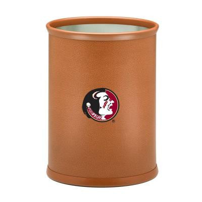 13 in. Florida State Basketball Texture Oval Trash Can