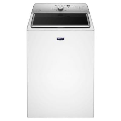 5.3 cu. ft. High-Efficiency Top Load Washer with Steam in White, ENERGY STAR