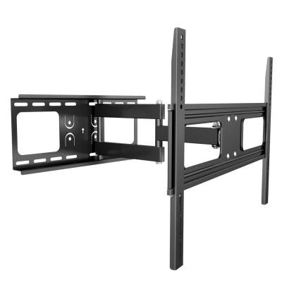 Full Motion Dual Arm TV Wall Mount for 37 in. - 70 in. Flat Panel TV's with 20 Degree Tilt, 110 lb. Load Capacity