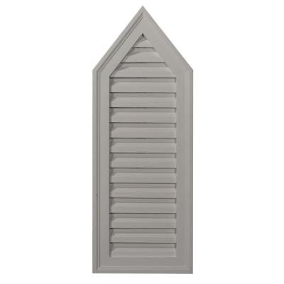 1-3/4 in. x 12 in. x 32 in. Functional Peaked Gable Vent