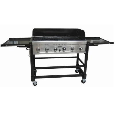 Chuck Wagon 6-Burner Event Propane Gas Grill