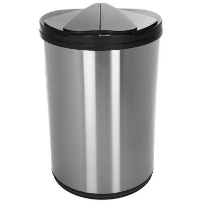 12.4 gal. Stainless Steel Motion-Sensing Touchless Infrared Trash Can