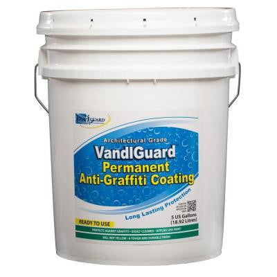VandlSystem 5-gal. VandlGuard Non-Sacrificial Anti-Graffiti Coating