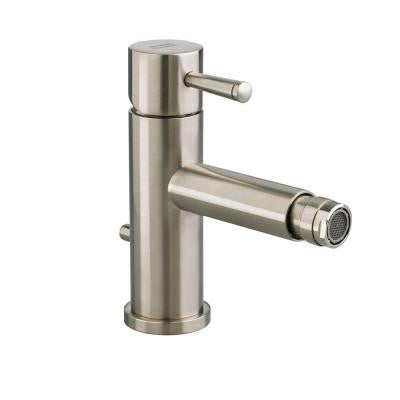 Serin Single Handle Bidet Faucet in Satin Nickel