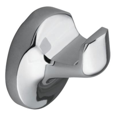 Aspen Single Robe Hook in Chrome