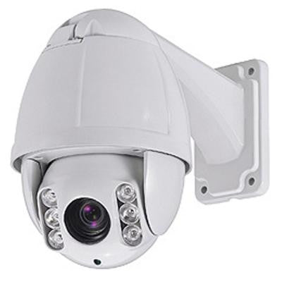 Wired 650TVL IR PTZ Indoor/Outdoor CCD Dome Surveillance Camera with 10X Optical Zoom