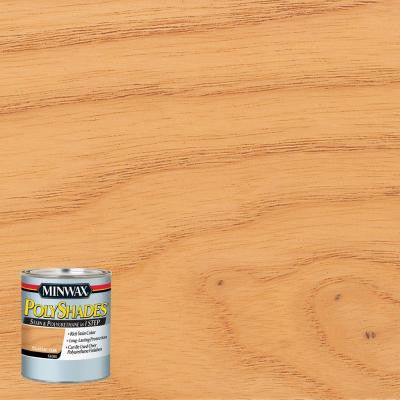 8 oz. PolyShades Classic Oak Gloss Stain and Polyurethane in 1-Step