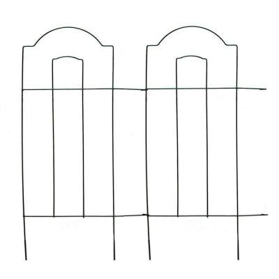 32 in. Cathedral Steel Wire Folding Fence