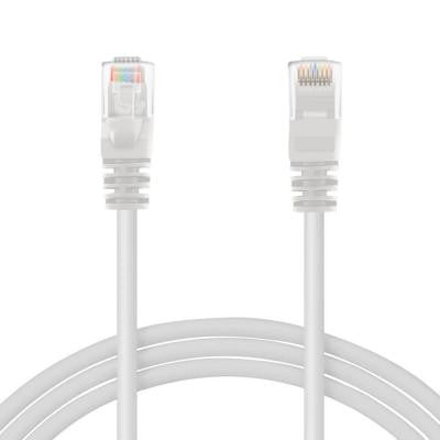 3 ft. Cat6e Ethernet LAN Network Patch Cable - White (10-Pack)
