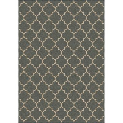 Williams Slate Blue 3 ft. 11 in. x 5 ft. 5 in. Indoor Area Rug