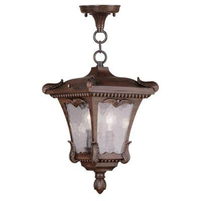 Providence 2-Light Hanging Outdoor Imperial Bronze Incandescent Lantern