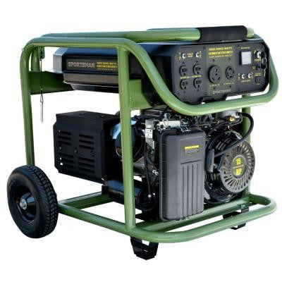 9,000-Watt Tri-Fuel Electric Start Portable Generator