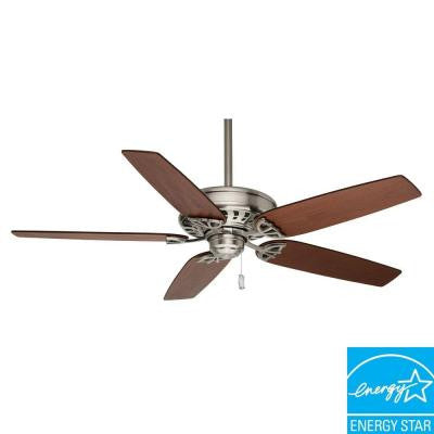 Concentra 54 in. Brushed Nickel Ceiling Fan