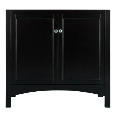 Haven 36 in. Vanity Cabinet Only in Espresso