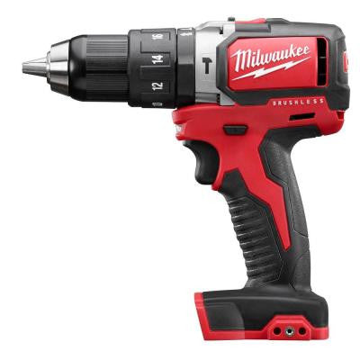 M18 18-Volt 1/2 in. Cordless Compact Brushless Hammer Drill (Tool Only)