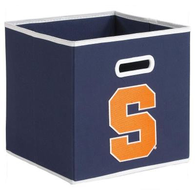 College STOREITS Syracuse University 10-1/2 in. W x 10-1/2 in. H x 11 in. D Navy Fabric Storage Drawer