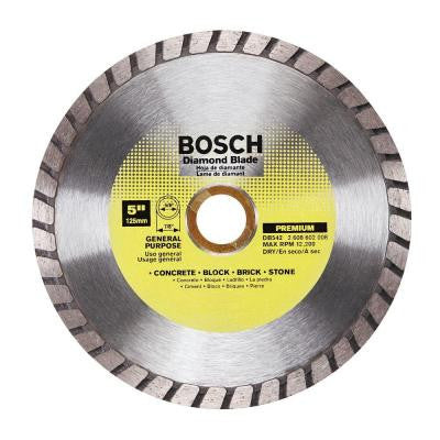 5 in. General Purpose Diamond Circular Saw Blade