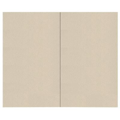 44 sq. ft. Birch Fabric Covered Top Kit Wall Panel