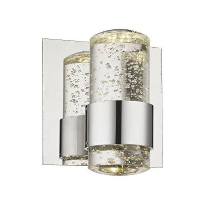 Surrey 5.5 in. 1-Light Chrome Vanity Light