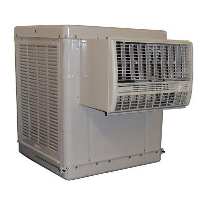 4200 CFM 2-Speed Front Discharge Window Evaporative Cooler for 1400 sq. ft. (with Motor)