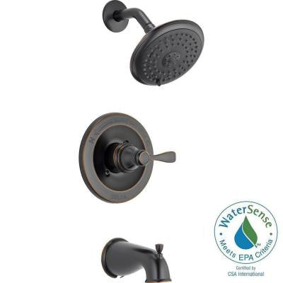 Porter 1-Handle Tub and Shower Faucet in Oil Rubbed Bronze