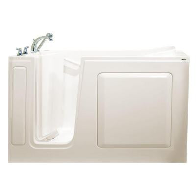 Value Series 60 in. x 30 in. Walk-In Soaking Tub in Biscuit