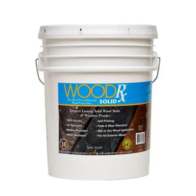 5-gal. Pewter Solid Wood Stain and Sealer
