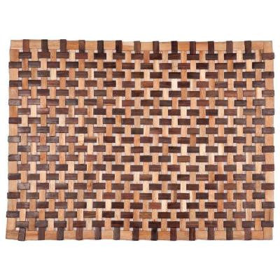 Douglas Natural 18 in. x 30 in. Exotic Wood Mat