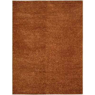 Fantasia Rust 8 ft. x 11 ft. Area Rug