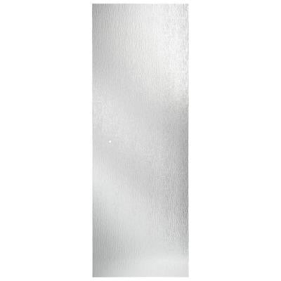 31 in. x 64 in. Pivoting Shower Door Glass Panel in Rain