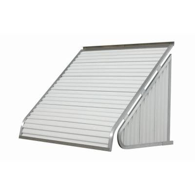 6 ft. 3500 Series Aluminum Window Awning (24 in. H x 20 in. D) in White