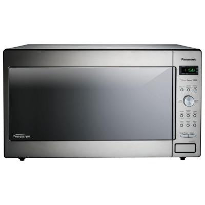 1.6 cu. ft. 1250 Watt Countertop/Built-In Microwave in Stainless Steel with Sensor Cooking