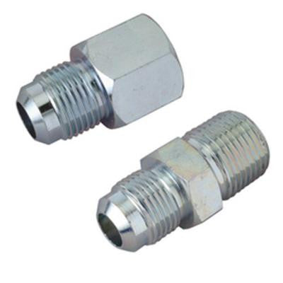 1/2 in. O.D. Flare Steel Gas Fittings Kit with 1/2 in. FIP and 1/2 in. MIP (3/8 in. FIP) Connections