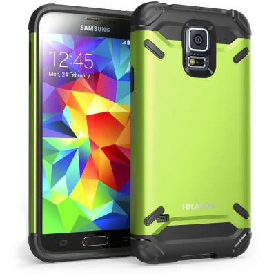 Armadillo Series Hybrid Case for Galaxy S5 - Green
