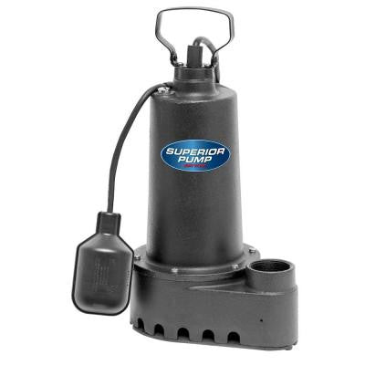 1/2 HP Submersible Cast Iron Sump Pump