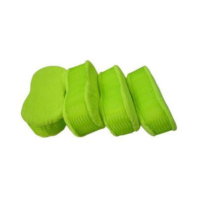 Microfiber Honeycomb Side Scrubber Sponge (4-Pack)