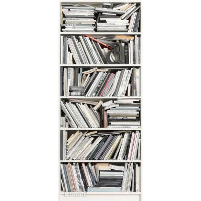 87 in. x 36 in. Bookcase Wall Mural