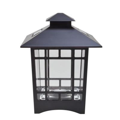 Solar Powered LED Birkdale Brown Postcap