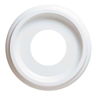 10 in. Smooth White Finish Ceiling Medallion
