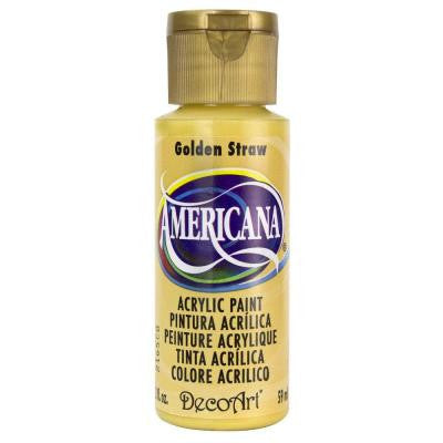 Americana 2 oz. Golden Straw Acrylic Paint