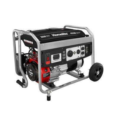 3,650-Watt 208cc Gasoline Powered Portable Generator