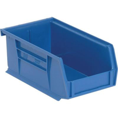 1.45-Qt. Stackable Plastic Storage Bin in Blue (24-Pack)