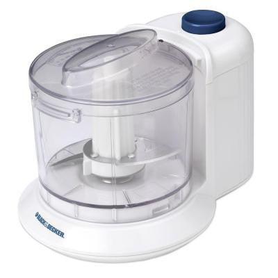 1.5-Cup One Touch Chopper in White