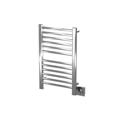 Sirio S-2133 21 in. W x 23.25 in. H 12-Bar Electric Towel Warmer in Brushed Stainless Steel