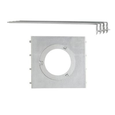 All in One 7 in. New Recessed Construction Mounting Plate with Hanger Bars